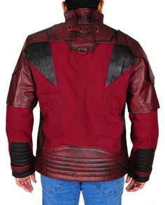 Star Lord Cosplay Leather Jacket (4)