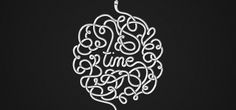 Wallpaper of the Week 191 by Mike Harrison | Abduzeedo | Graphic Design Inspiration and Photoshop Tutorials #greyscale #cable #time #typography