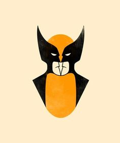 FFFFOUND! | supersonic electronic / art #ground #yellow #black #wolverine #batman #escher #figure #xmen