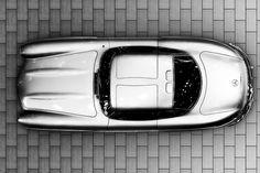 tumblr_lxnky54CcQ1qatgaoo1_1280.jpg (JPEG Image, 600x400 pixels) #sportscar #silver #classic #mercedes #vintage #car #luxury