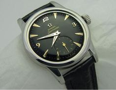 Omega Seamaster Sub Seconds Watch #analog #dial #mechanical #piece #time #watches