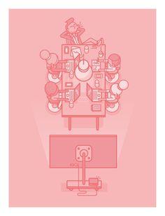 Board-of-directors_print #illustration #character