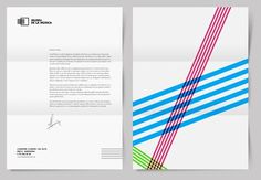 Museu de la música - Barcelona #branding #museum #identity #barcelona #stationery #music #letterhead