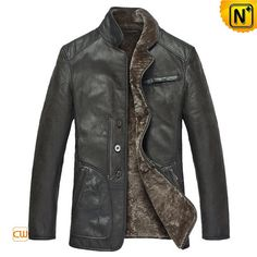 Mens Shearling Leather Jackets CW819076 by cwmallsshop on Etsy #mens #shearling #coat