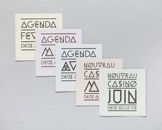 Ill Studio - Nouveau Casino 01 #print #typography #book #nouveau #casino