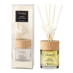 Fragrant Solar Flower Diffuser Vanilla & Brown Sugar, 80 ml