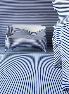 "Jean Paul Gaultier talks to Yatzer | Yatzerâ""¢ #interior #sofa #stripes #design #jean #gaultier #paul"