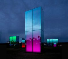 phillip k smith III mirrors reflection field for coachella #coachella