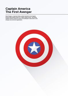 Minimalist Movie Posters on Behance #american #captain #illustration #poster #america #minimalist