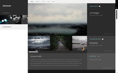 Skimmer - Profiles on the Behance Network #skimmer #photo #website #grid #layout #web