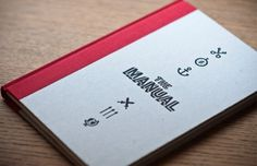 tumblr_lq4we4kE2z1qg0tcco1_500.jpg (500×323) #cover #book #manual