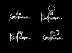 Kaufmann | BOND #agency #script #bond #drawn #logo #hand