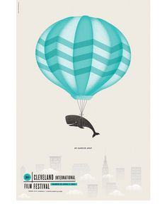 cfsposter.png #festival #whale #color #texture #illustration #poster #film