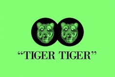 TIGER TIGER – #design #graphic #illustration #brand #dallasisnotmyname #logo #tiger #animal