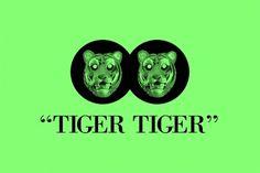 TIGER TIGER – #design #graphic #illustration #brand #dallasisnotmyname #logo #tiger #animal
