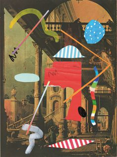 Pablo Boffelli | PICDIT #design #art #collage #artist #mixed #media #color