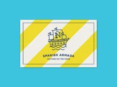 Spanish Armada Stationary by javi medialdea