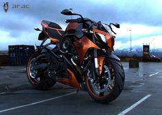 ARAC ZXS Motorcycle