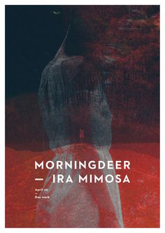 morningdeer #flyer #photography #poster #music #layout