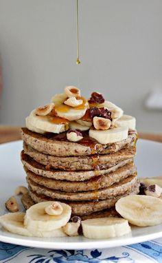 Likes | Tumblr #banana #pancakes #syrup