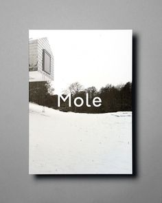 Mole Architects Christmas Card #book design #cover
