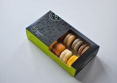 Kitchening & Co. Macaron Packaging #packaging #box #food