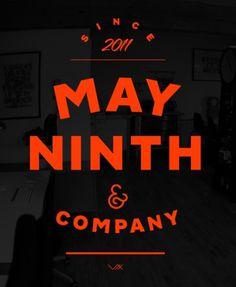 MayNinth #typography