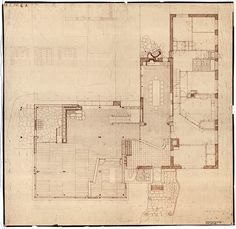 Villa Mairea 1938 39. #plan #mairea #alvar #aalto #villa