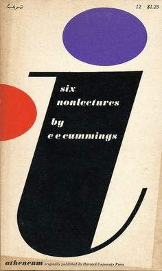 All sizes | Six Nonlectures cover by Paul Rand | Flickr - Photo Sharing! #cover #rand #book #paul