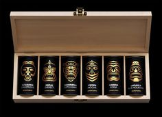 Exotic coffee collection packaging design #packaging #world #design #set #masks #coffee