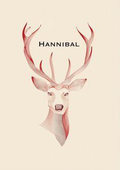 HannibalPoster #design #hannibal #poster #art #fan