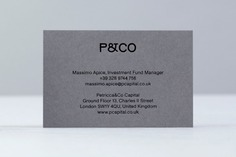 Petricca Co. Identity - Mindsparkle Mag Petricca Co. Identity is a beautiful project designed by Bunch of brand identity for a London based alternative investment fund manager operating in real estate, renewable energy, art, luxury and precious metals. #logo #packaging #identity #branding #design #color #photography #graphic #design #gallery #blog #project #mindsparkle #mag #beautiful #portfolio #designer