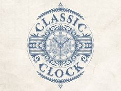 Dribbble - Classicclock by JC Desevre #classic #retro #intricate #illustration #clock #desevre #jc