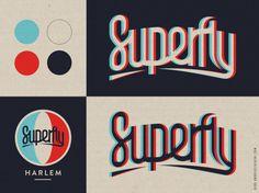Superfly #superfly #branding #harlem #nyc