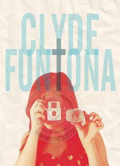 Personal Work Clyde Funtona / Clyde F.'s logo. www.facebook.com/clydefuntonaphoto #funtona #clyde