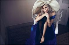 Abbey Lee Kershaw by Lachlan Bailey » Creative Photography Blog #fashion #photography #inspiration