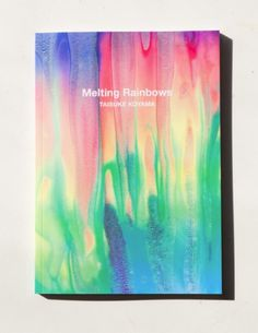 M O O D #book #paint #colors #rainbow #melting #watercolors