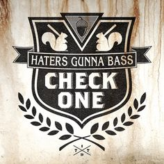Check One - Velckro Artwork #logo #haters #velckro