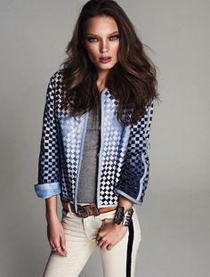 Naty Chabanenko by Xavi Gordo for Elle Spain #sexy #model #girl #photography #fashion