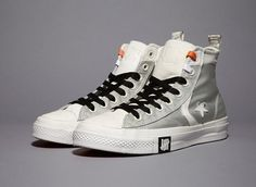 Undefeated x Converse White Ballistic Capsule | Sneaker Files #shoes #converse #basketball