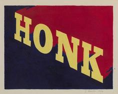 'HONK', Edward Ruscha, 1962 | Tate