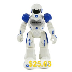 Remote #Control #RC #Robot #Talking #Walking #Light #Music #Action #Toys #Christmas #Gift #- #BLUE
