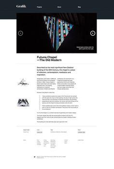 www.grafik.co.nz #website #grid #layout #web