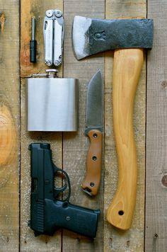 1 hour ago - 406 notes #gun #flask #axe #knife #hip