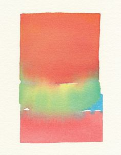 Melissa's Place #watercolor #color #fade
