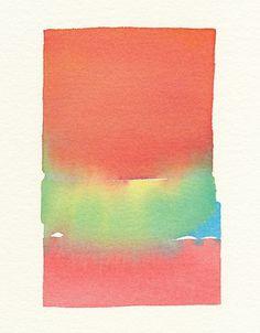 Melissa's Place #color #watercolor #fade