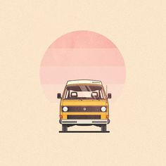 vanagon front view by dee duncan