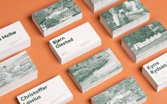 Filmfaktisk #business #card #branding