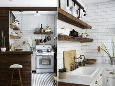 alphabet city | sfgirlbybay #interior design #decoration #kitchen #decor #deco #tiles