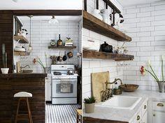 alphabet city | sfgirlbybay #interior design #decoration #kitchen #decor #deco #tiles